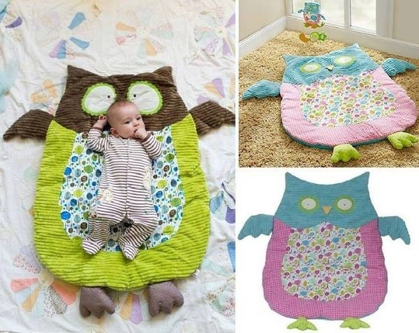 DIY Cute Owl Mat