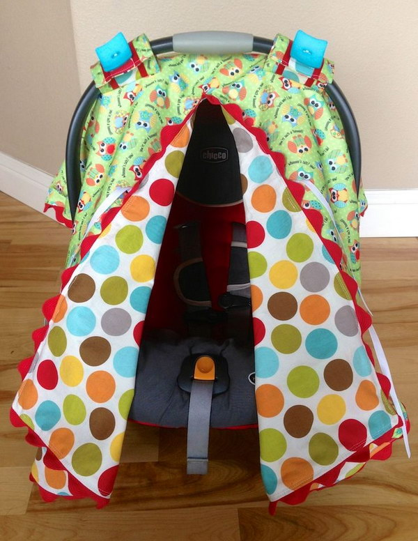 Carseat Canopy Tutorial
