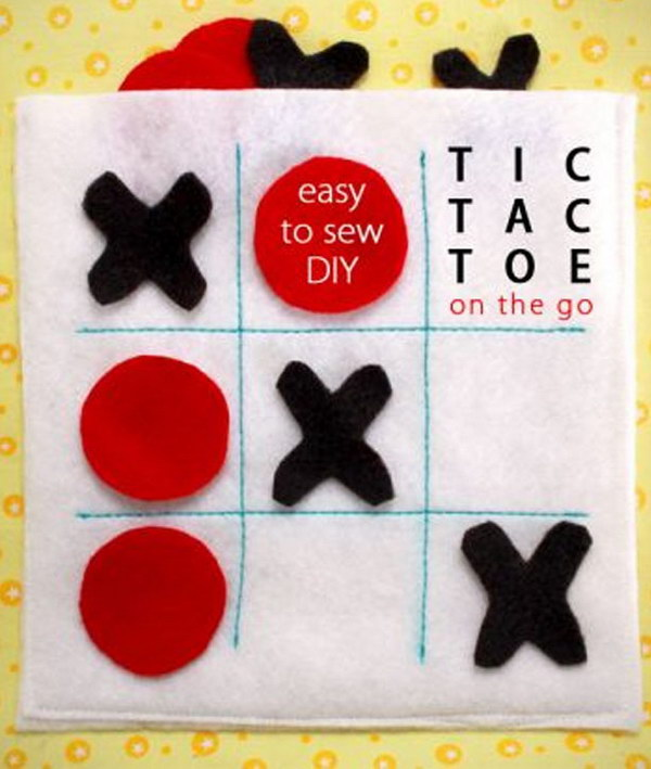 Felt Travel Tic Tac Toe