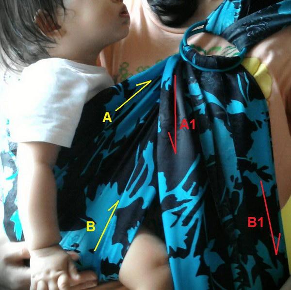 No-Sew Infant Sling Carrier