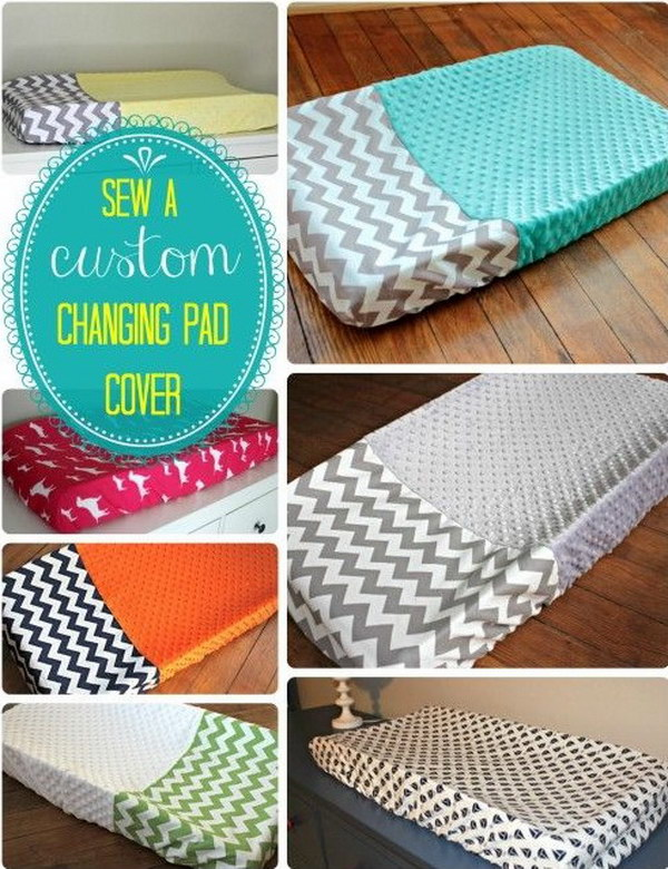 Sew Changing Pad Cover