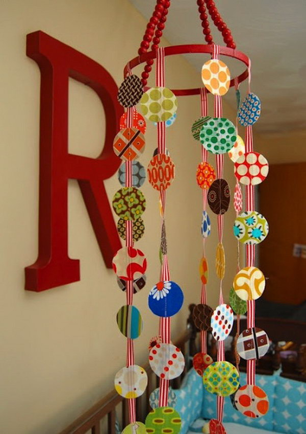 DIY Beaded Mobile