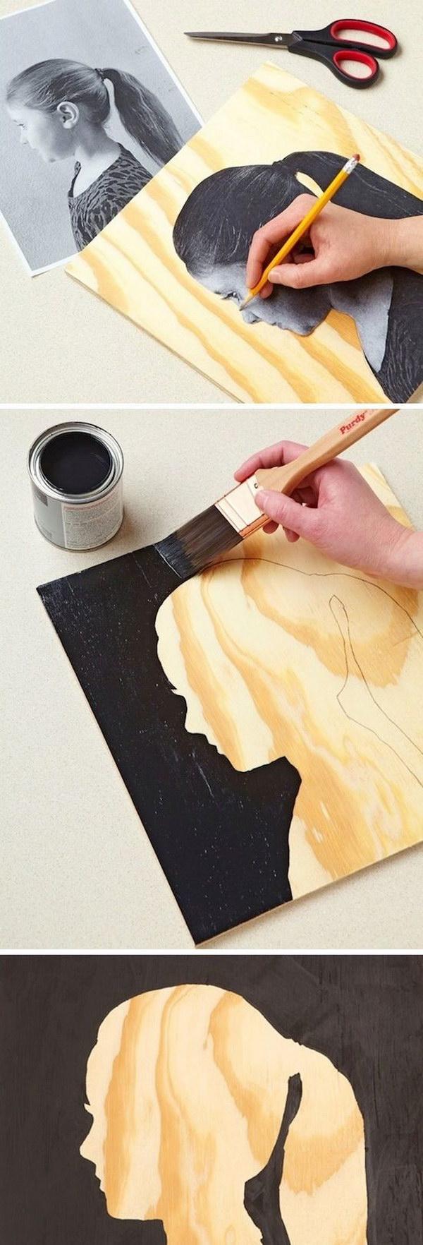 30 Awesome Wall Art Ideas & Tutorials - Hative