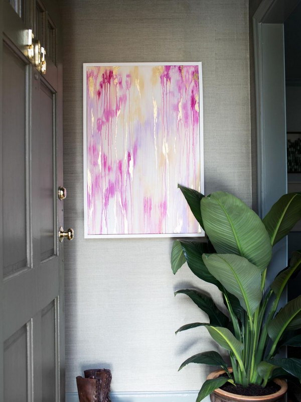DIY Beautiful Abstract Wall Art