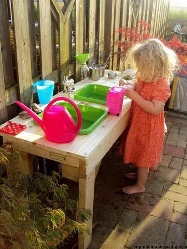 Уголок для ребенка на даче своими руками