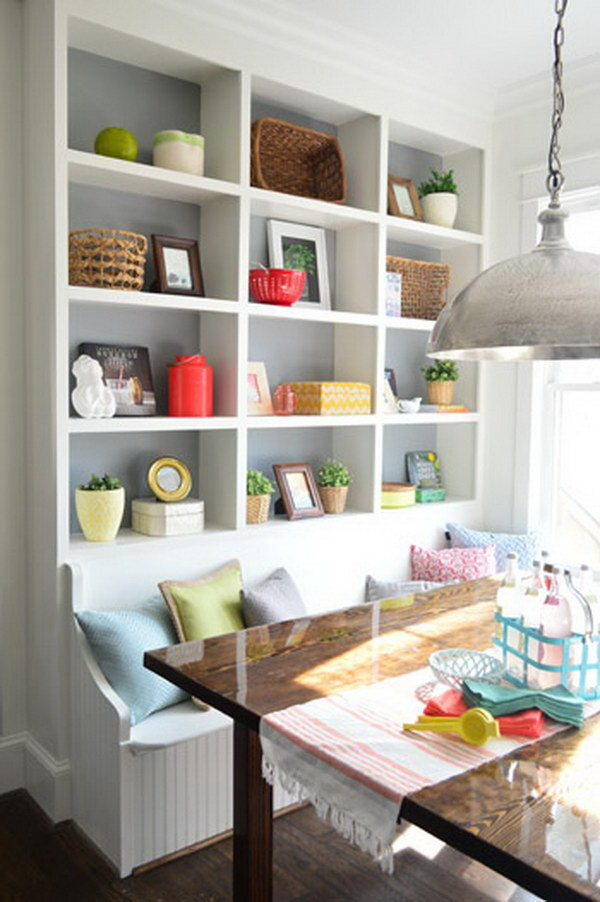 16-breakfast-nook-ideas Pantry Ideas Kitchen Amp Nook on kitchen pantry designs, kitchen pantry with small floor plans, kitchen slide out pantry shelves, kitchen with no pantry,