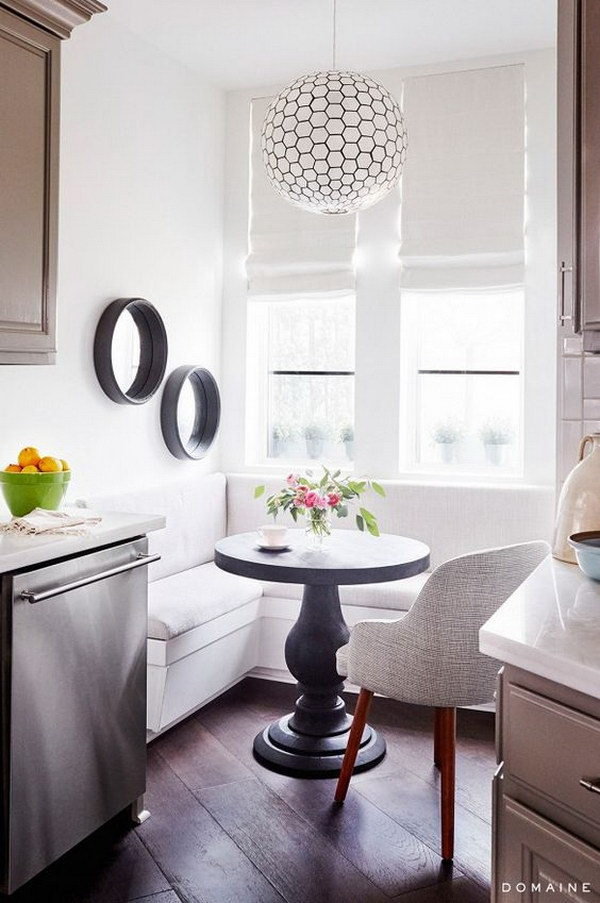 Beautiful and cozy breakfast nooks hative - Breakfast nooks for small kitchens ...