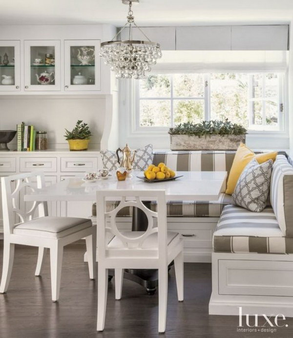 Beautiful And Cozy Breakfast Nooks