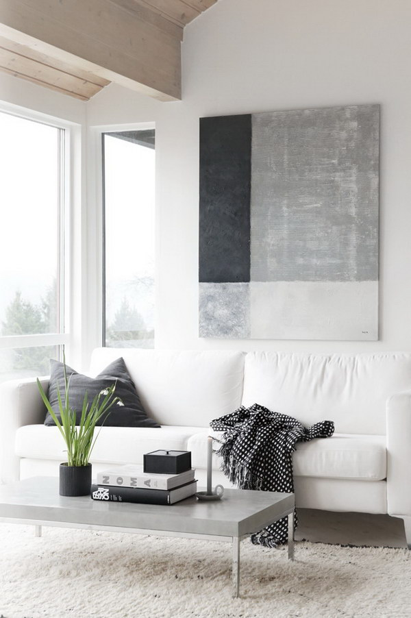 Pretty living room colors for inspiration hative Shades of gray for living room