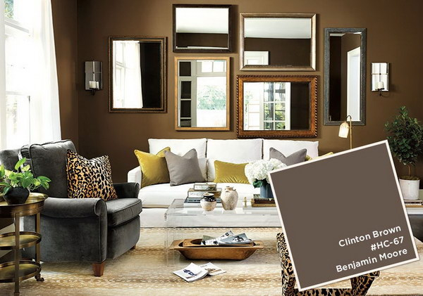 Clinton Brown Living Room Painting.