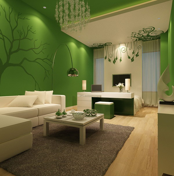 Pretty living room colors for inspiration hative for Best white paint for grow room