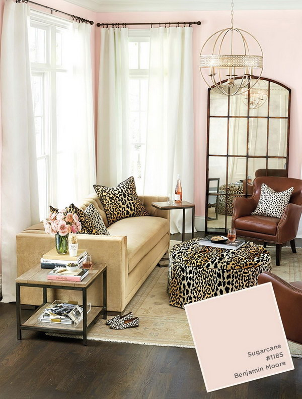 Sugarcane Living Room Painting.