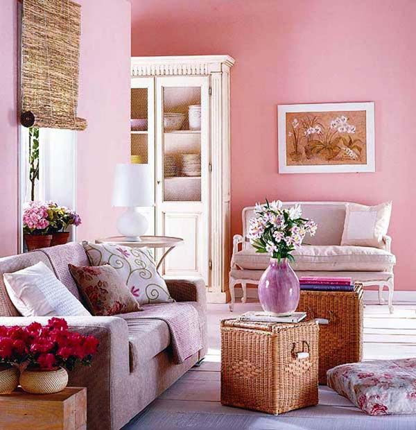 Living Room Color Schemes: Pretty Living Room Colors For Inspiration
