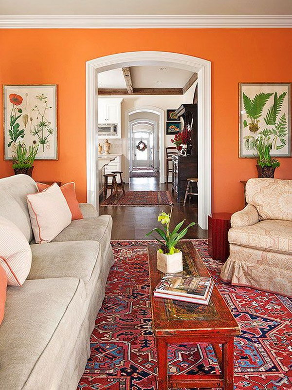Pretty living room colors for inspiration hative - Home decorators carpet paint ...