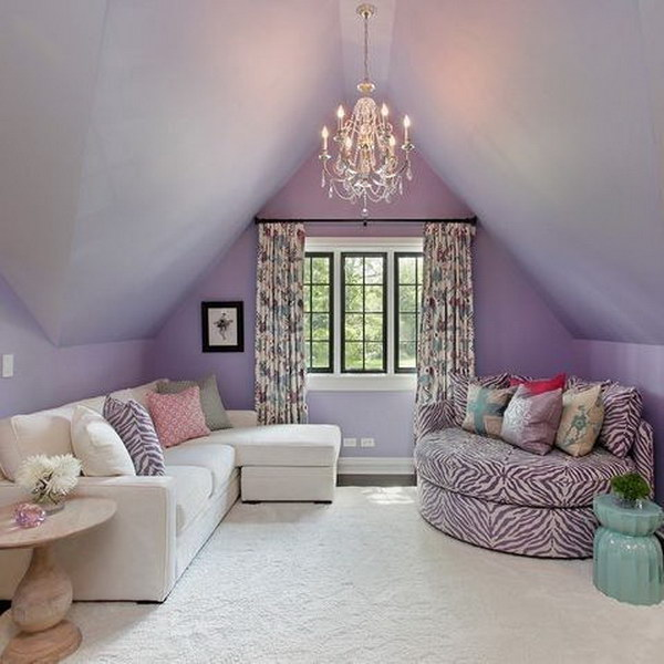 Pretty living room colors for inspiration hative for Pretty bedroom colors
