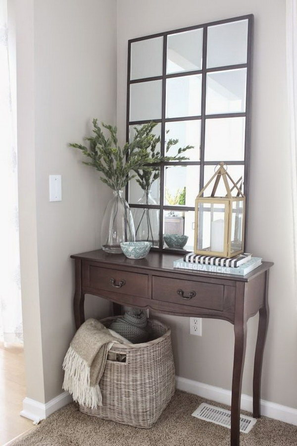 diy pottery barn eagan mirror - Decorating With Mirrors
