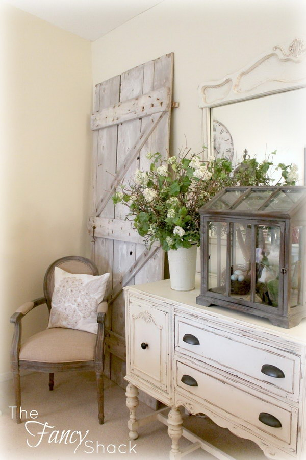 16 Enchanting Modern Entrance Designs That Boost The Appeal Of The Home: Enchanting Farmhouse Entryway Decorations For Your Inspiration