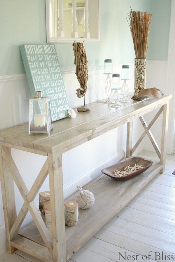 Farmhouse Foyer Table Decor : Enchanting farmhouse entryway decorations for your