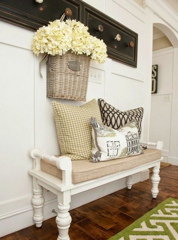 enchanting farmhouse entryway decorations for your inspiration - hative