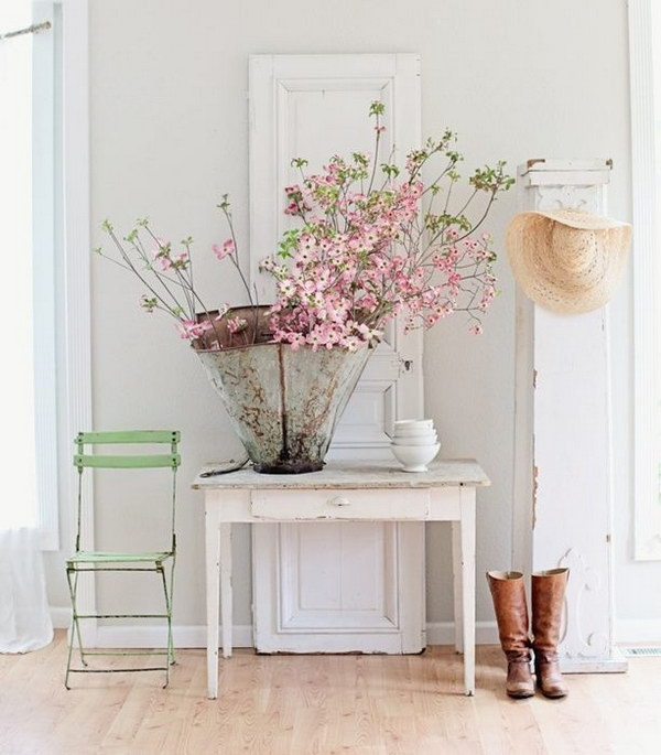 Enchanting Farmhouse Entryway Decorations For Your Inspiration Hative