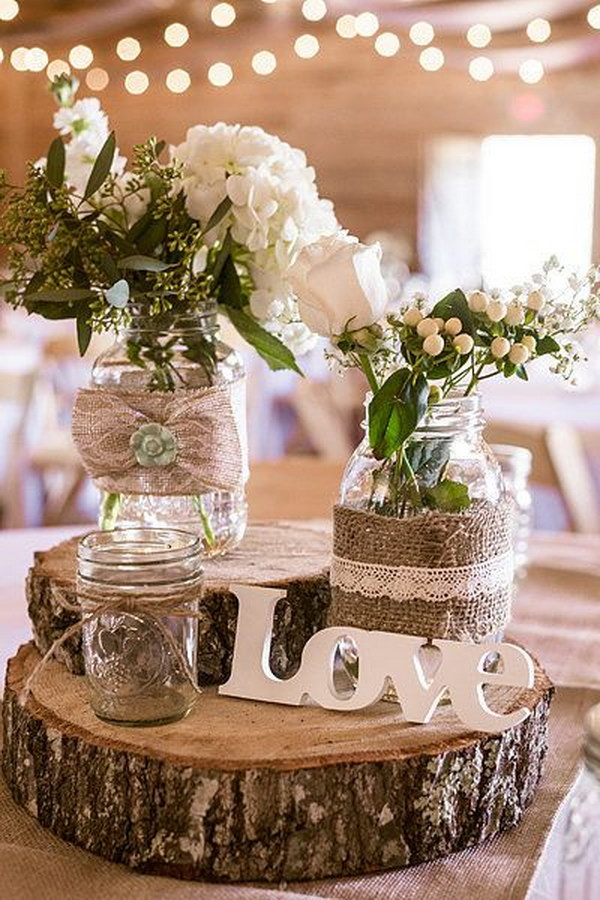 50+ Budget Friendly Rustic Real Wedding Ideas