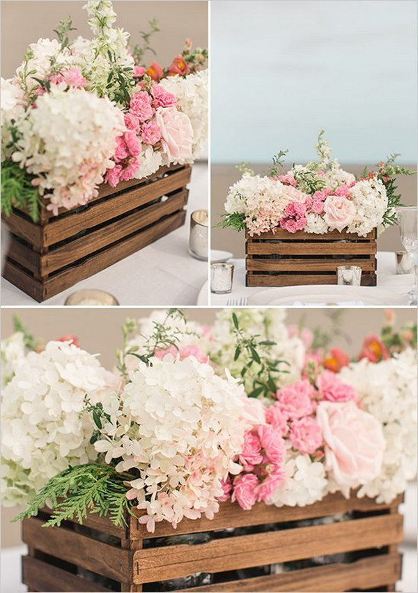 DIY Paint Stir Stick Flower Box Tutorial