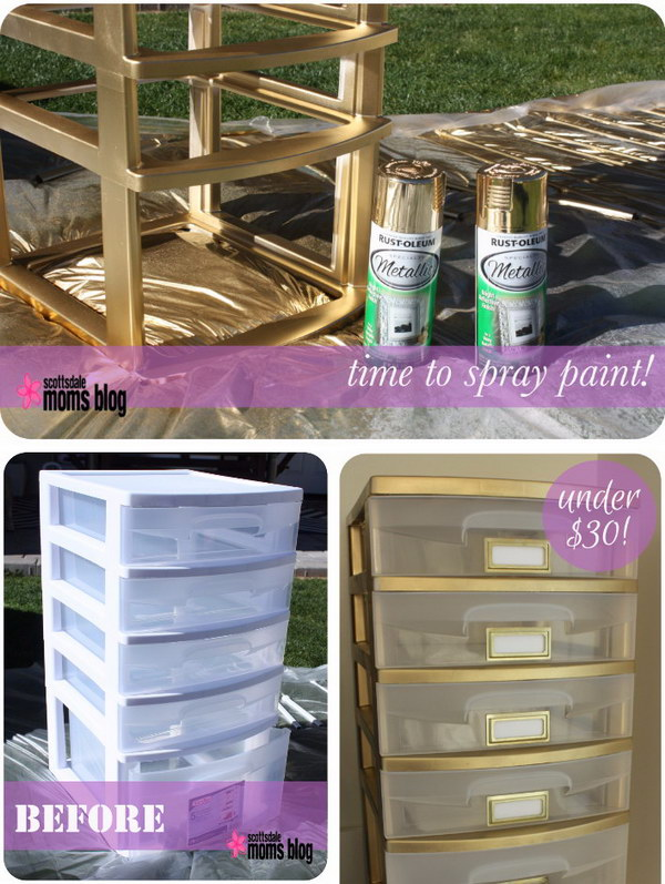 Amazing Spray Paint Project Ideas To Beautify Your Home Hative