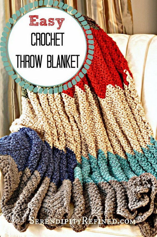 Cool & Easy Crochet Blankets With Lots of Tutorials and ...