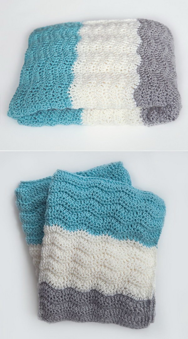 Crochet Blanket Patterns Free Baby : Cool & Easy Crochet Blankets With Lots of Tutorials and ...