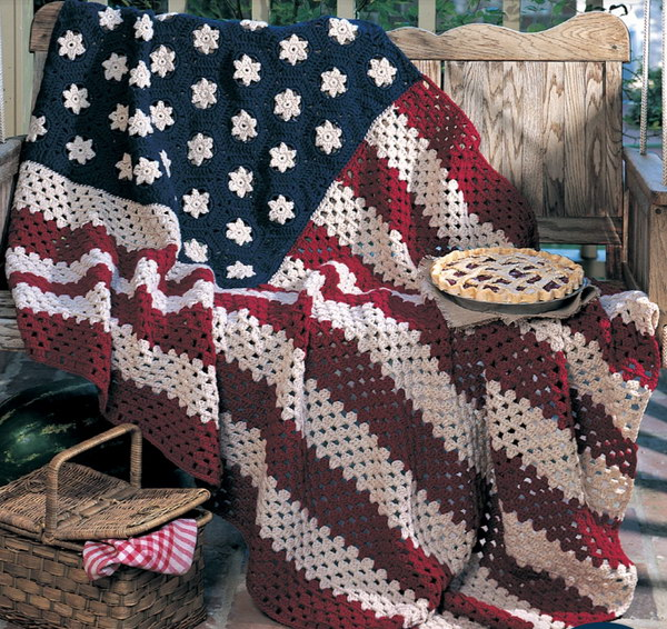 Crochet Patterns For A Blanket : Cool & Easy Crochet Blankets With Lots of Tutorials and ...