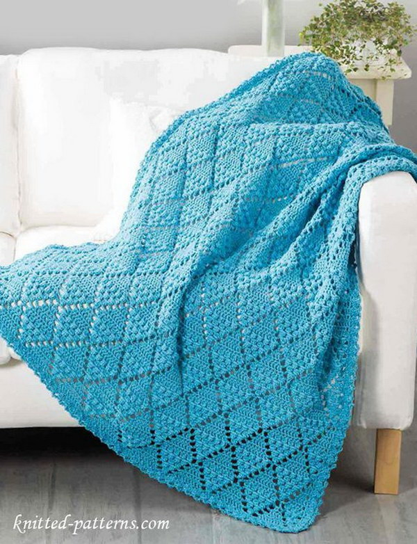 Free Crochet Patterns For Blankets And Throws : Cool & Easy Crochet Blankets With Lots of Tutorials and ...