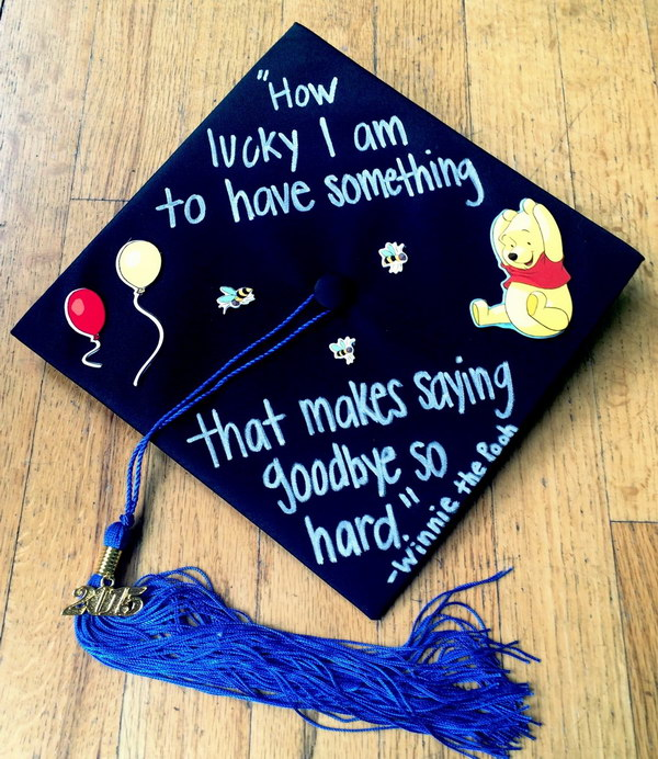 50 super cool graduation cap ideas hative for Accounting graduation cap decoration