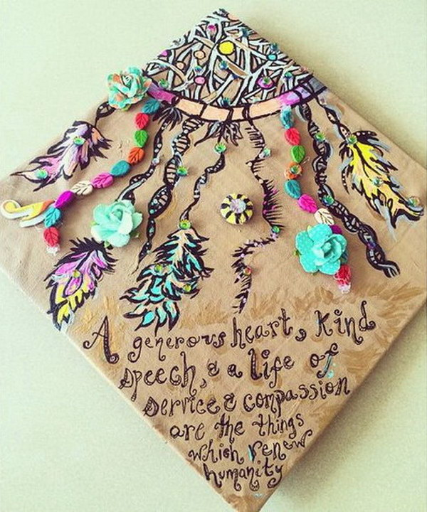 50 super cool graduation cap ideas hative