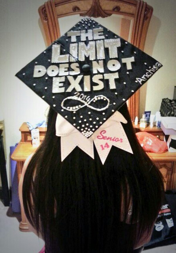 Math Major Graduation Cap Inspired By Calculus.