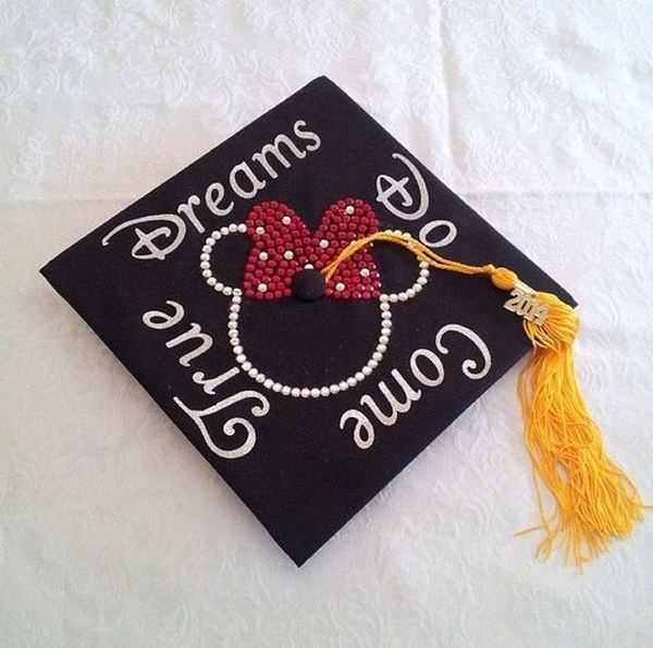 Disney Mickey Mouse Graduation Cap.