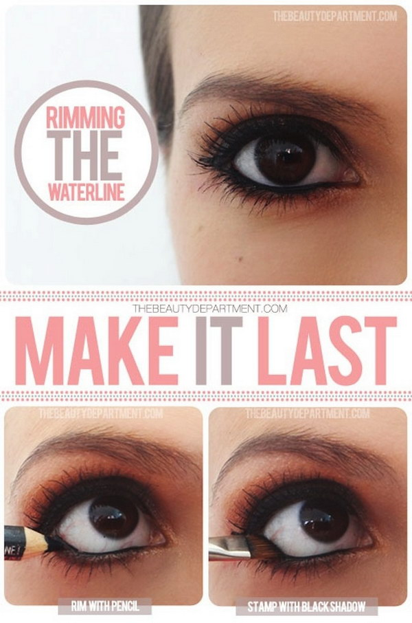 How To Make Your Inner Liner Or Waterliner Last Longer