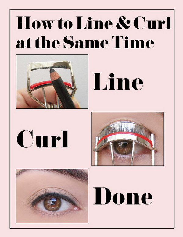 How to Line and Curl at the Same Time.