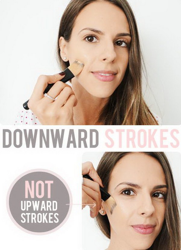 How to Create Downward Strokes.