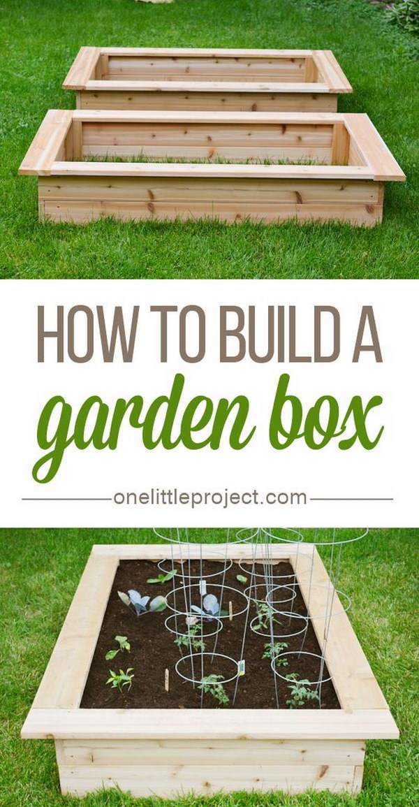 30 raised garden bed ideas hative for Making raised garden beds