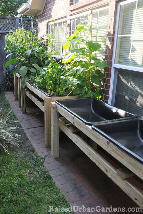 30 raised garden bed ideas hative - Ideas for small garden beds ...