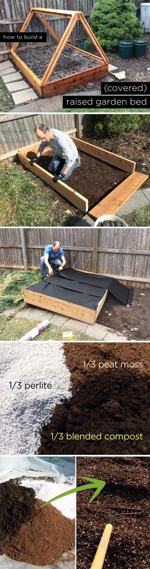 Raised Gardens Ideas 42 free diy raised garden bed plans ideas you can build in a day Diy Covered Raised Garden Bed