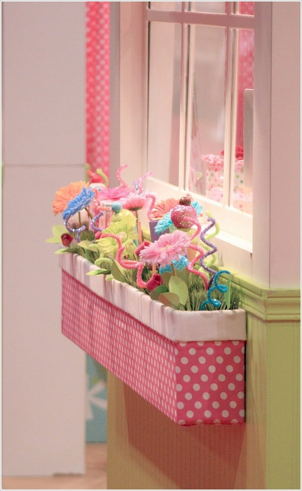 Cute Indoor Window Box for Girls.