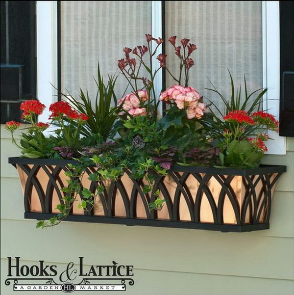 Window Box with Real Copper Liner.