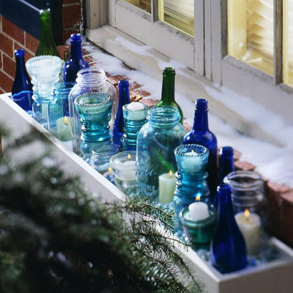 Christmas Indoor Window Box with Votives & 25 Creative Window Boxes - Hative