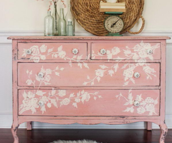 fantistic diy shabby chic furniture ideas tutorials hative. Black Bedroom Furniture Sets. Home Design Ideas