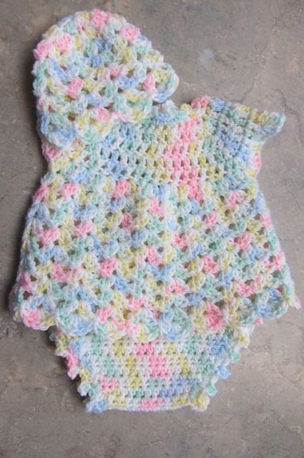 7cfa795a5 Cool Crochet Patterns   Ideas For Babies - Hative