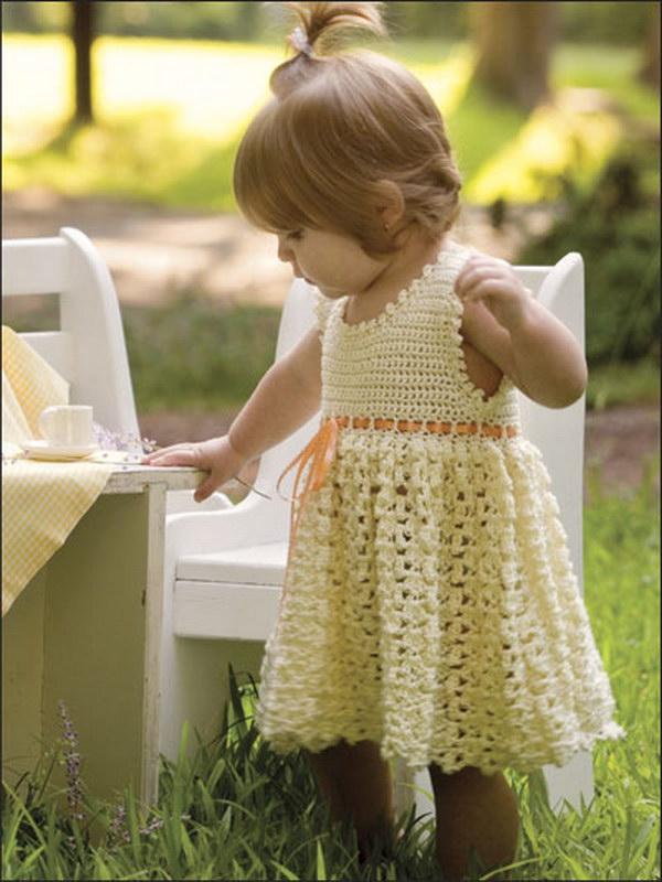 Vanilla Baby Dress.