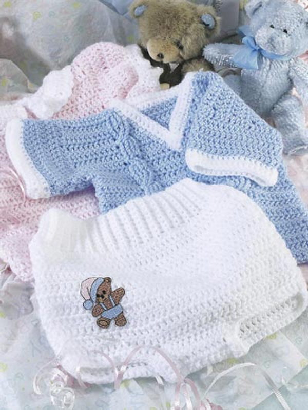 Free Crochet Pattern For Baby Romper : Cool Crochet Patterns & Ideas For Babies - Hative