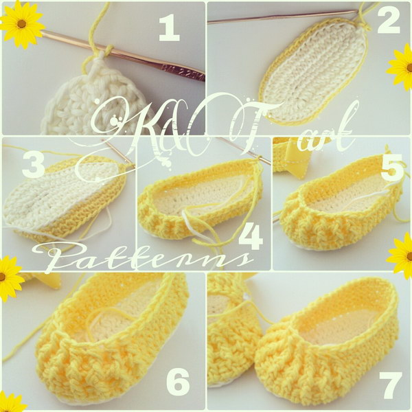 Crochet Baby Booties Free Pattern Diagram Diy Enthusiasts Wiring
