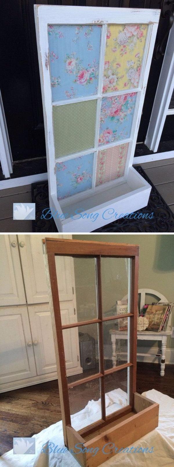 DIY破旧别致的窗框